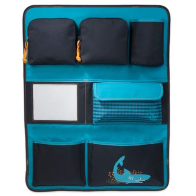 lassig backseat car organizer in shark ocean
