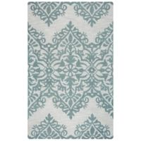 Rizzy Home Lunnica Medallion 9-Foot x 12-Foot Area Rug in Green/Grey