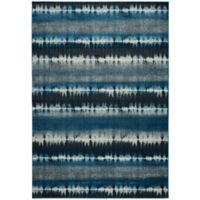 Rizzy Home Sorrento 6-Foot 7-Inch x 9-Foot 6-Inch Area Rug in Navy