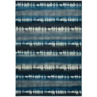 Rizzy Home Sorrento 9-Foot 10-Inch x 12-Foot 6-Inch Area Rug in Navy