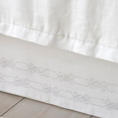 Dena™ Atelier Somerset Queen Bed Skirt In White