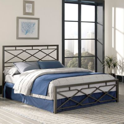 Fashion Bed Group Alpine Full In Rustic Pewter