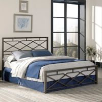 Fashion Bed Group Alpine Queen Bed in Rustic Pewter