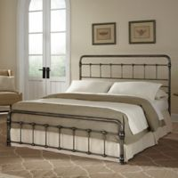 Fashion Bed Group Fremont Complete Full Bed in Weathered Nickel