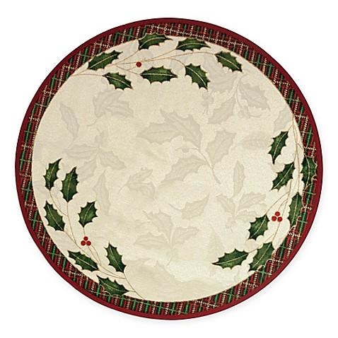 Lenox 174 Holiday Noveau Round Placemat Bed Bath Amp Beyond