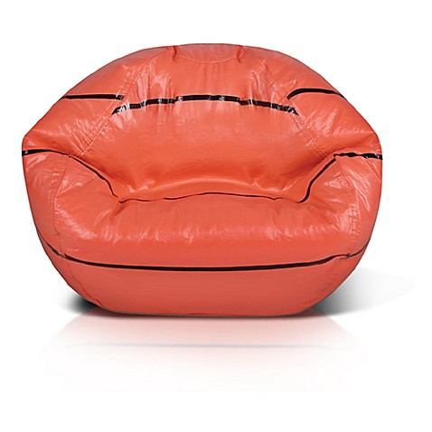 Exceptionnel Sports Bean Bag Basketball Chair In Orange