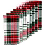 Holiday Plaid Napkins (Set of 8)