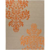 Surya Vesuvius 8-Foot x 10-Foot Indoor/Outdoor Area Rug in Orange