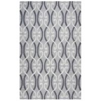 Rizzy Home Loureli 5-Foot x 8-Foot Area Rug in Grey