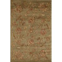 Rugs America Capri Orchid 3-Foot 11-Inch x 5-Foot 3-Inch Area Rug in Green