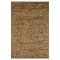 Rugs America Capri Orchid 5-Foot 3-Inch x 7-Foot 10-Inch Area Rug in Green