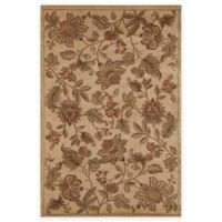 Rugs America Capri Orchid 5-Foot 3-inch x 7-Foot 10-Inch Area Rug in Beige
