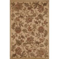 Rugs America Capri Orchid 7-Foot 10-Inch x 10-Foot 10-Inch Area Rug in Beige