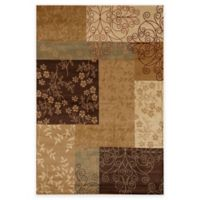 Rugs America Capri Spencer 3-Foot 11-Inch x 5-Foot 3-Inch Area Rug in Gold
