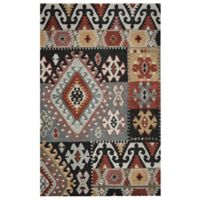 Rizzy Home Southwest Patch 9-Foot x 12-Foot Multicolor Area Rug