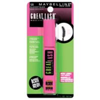 Maybelline® Great Lash® Curved Brush Washable Mascara in Blackest Black