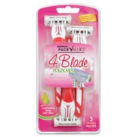 Harmon® Face Values® 3-Count 4-Blade Disposable Razors for Women