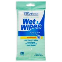 Harmon® Face Values™ 20-Count Wet Wipes in Sensitive Fragrance-Free