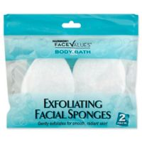 Harmon® Face Values™ 2-Count Exfoliating Facial Sponge