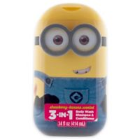 Despicable Me® Minions® 14 oz. 3-in-1 Hair and Body Wash in Strawberry Banana