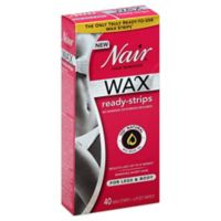Nair Wax Ready Body Strips 40 Count
