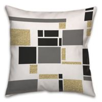 Buy Grey Gold Throw Pillow Bed Bath Beyond