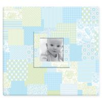 Baby Photo Cover Scrapbook Album in Blue