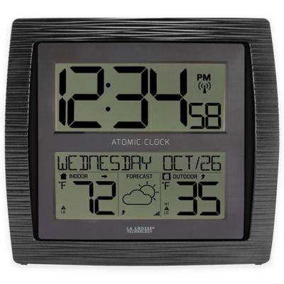 Buy Outdoor Temperature Clock from Bed Bath & Beyond