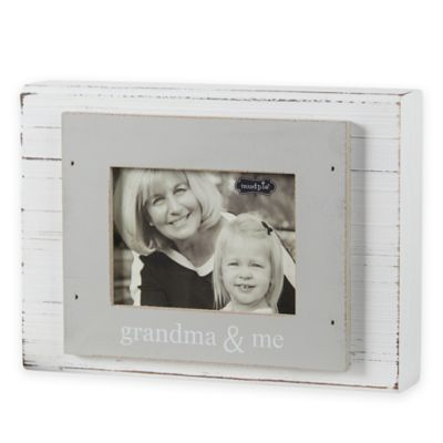 mud pie grandma me 3 inch x 4 inch wood block