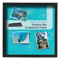 MCS 12-Inch x 12-Inch Shadow Box in Black