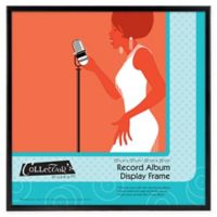 12.5-Inch x 12.5-Inch Record Album Display Frame in Black