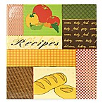 Veggie 3-Ring Recipe Scrapbook with Recipe Cards