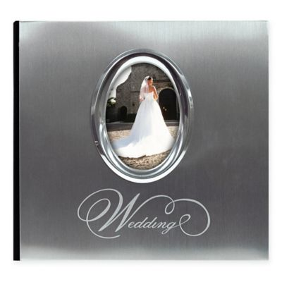 200 Photo Wedding Album In Silver