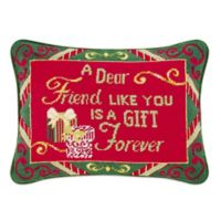 """""""A Dear Friend"""" Oblong Throw Pillow"""