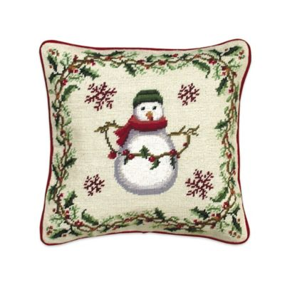 Throw Pillow Synonym : Image Gallery Snowman Throws