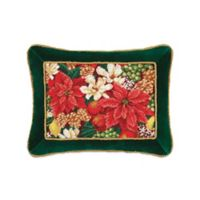 Crimson Glory Oblong Throw Pillow