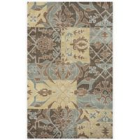 Rizzy Home Southwest Patchwork 9-Foot x 12-Foot Multicolor Rug