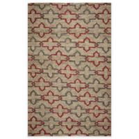 Rizzy Home 3-Foot x 5-Foot Diamond Cross Links Area Rug in Natural