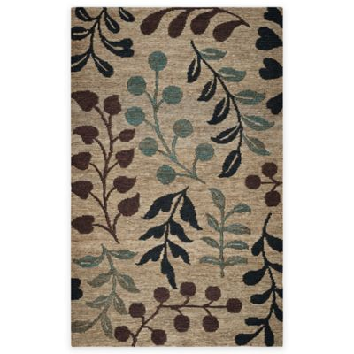 Rizzy Home 3 Foot X 5 Fl Branches Area Rug In Natural