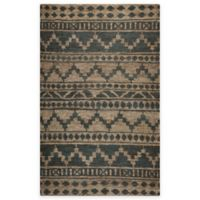 Rizzy Home 5-Foot x 8-Foot Southwestern Area Rug in Sage