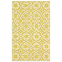 Feizy Hareer 7-Foot 6-Inch x 9-Foot 6-Inch Area Rug in Maize