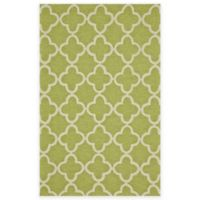 Feizy Hareer 2-Foot x 3-Foot Accent Rug in Green