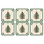 Spode® Christmas Tree Coasters (Set of 6)