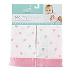 aden® by aden + anais® Darling Muslin Security Blanket in Pink