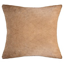 PUR® Cashmere Soft Brushed Viscose from Bamboo Square Throw Pillow Collection