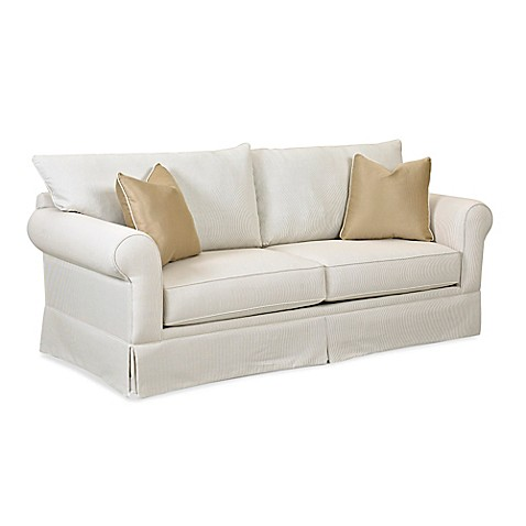 Klaussner 174 Grove Park Sofa In Dove Bed Bath Amp Beyond