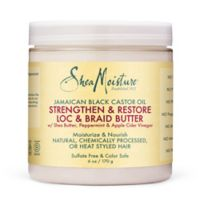 SheaMoisture® Jamaican Black Castor Oil 6 fl. oz. Loc & Braid Butter