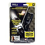 Atomic Beam USA™ Battery Operated Ultra Bright Flashlight in Black