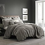 Wamsutta® Vintage Paisley Linen Full/Queen Duvet Cover in Grey