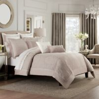 Valeron Ambroise King Duvet Cover in Blush